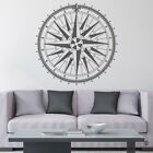 360 Compass Rose Vinyl Wall or Ceiling Decal - fits family room + more K670