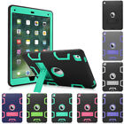 Hybrid Heavy Duty Protective Case Cover Stand for Apple iPad Pro 9.7 inch