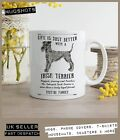 Irish Terrier Dog Mug ~ Perfect Gift can be personalised ~ Vintage style