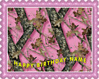 MOSSY OAK - Edible Cake Topper OR Cupcake Topper, Decor
