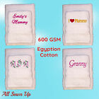 Mothers Day Gift Embroidered Personalised Towels -  Mother's Present Birthday