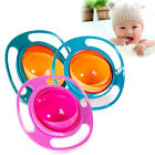 New Kids Feeding Toddler Gyro Bowls 360 Rotating Baby dishes Avoid Food Spilling