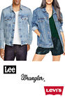 Levis Lee Wrangler Denim Trucker Jacket Vintage Grade A -Various Colours XXS-XXL