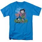 Betty Boop POLYNESIAN LUAU PRINCESS Felix the Cat Licensed T-Shirt All Sizes $21.95 USD
