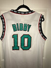 NWT Mike Bibby 10 Vancouver Grizzlies Throwback Jersey White Stitched Men