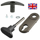 HENDERSON PREMIER Garage Door Front & Rear Handle 65mm Backplate Lock REPAIR KIT