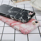 Marble Ultra Thin Slim Matte Hard Back PC Case Cover For Apple iPhone 6s 7 Plus