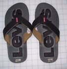 MENS LEVI'S KYLE SPORT FLIP FLOP SANDALS SIZE 8 NEW WITH TAGS MSRP$ 28