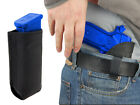 New Barsony Black Leather IWB Holster + Mag Pouch Paraordnance Full Size 9mm 40