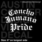 CONCHO JUMANO PRIDE Vinyl Decal Car Truck Sticker - Native American Indian Tribe