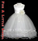 New Flower Girl Dress Butterfly Rose Wedding Party Dress size 2 4 6 8 10