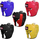 Rex Leather Boxing Head Guard Helmet Head Face Protector Protection Mens,Ladies