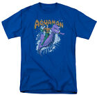 Aquaman on Seahorse RIDE FREE Vintage Style Adult T-Shirt All Sizes