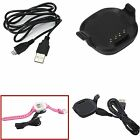 Charger Dock Stand USB Data Cable For Garmin Forerunner 10/15 GPS Running Watch