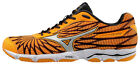 MIZUNO Wave Hitogami 4 Damen Laufschuh Neutralschuh Joggingschuh Orange Pop/Silv
