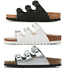Birkenstock Florida Birko-Flor Sandals 3 Strap Slides Cork Footbed Mens Womens