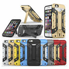 Hybrid Hard Case Cover with Kickstand For Apple iPhone 5 5s SE iPhone 6 6s Case