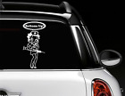 Betty Boop Nurse Inspired Window Car Decal / Cartoon Inspired Car Decal $12.0 USD