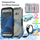 for Samsung Galaxy S6/S7 Shockproof Waterproof Dirt Proof Hard Case Full Cover