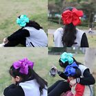 10 inches Hair bows Alligator Clips for Girls Super Large Bows Hair Accessories