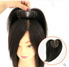TOP Hand-made mono 100% Human Hair Topper Hairpiece Top Piece For Women