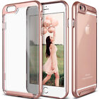 For iPhone 6 7 Plus Case Clear Hybrid Slim Shockproof Soft TPU Bumper Hard Cover