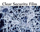 """Transparent 8 Mil 24"""" x10ft to 25' Safety Security Window Film Roll Home Glass"""