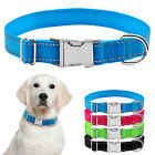 Safe Reflective Nylon Pet Dog Collar Durable Metal Buckle S M L XL 4 Color