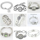 2016 Interchangeable snap bracelets jewelry fit for 18mm snaps chunk buttons
