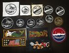 Original WWII US Navy Patch Lot - 16 Different Patches - Mostly PT Boats