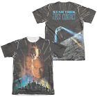 Star Trek FIST CONTACT POSTER 2-Sided All Over Print Poly Cotton T-Shirt