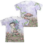 Betty Boop FAIRY 2-Sided Sublimated All Over Print Poly Cotton T-Shirt $37.92 CAD