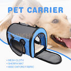 Portable Pet Soft Carry Dog Cat Carrier Airline Travel Backpack Bag Pet Trolley