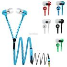 Universal Stereo 3.5mm in-Ear Earphone with Mic Zipper Headset Headphone ZTZ34