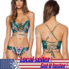 Swimwear Brazilian Bandage Bikini Set Push-up Padded Bra Bathing Suit Swimsuit