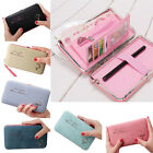 Candy Color Multi-function Envelope Wallet Purse Phone Card Holder Clutch Box