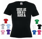 'QUEENS ARE BORN IN MARCH'  Funny Ladies Girls Custom T-shirt
