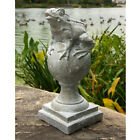 Frog on Finial Garden Statue Sculpture 14