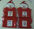 Grasslands Road HOLIDAY MESSAGE ONESIES 0-3 mos 3-6 mos NEW Santa Red White