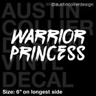 WARRIOR PRINCESS Vinyl Decal Car Window Truck Laptop Sticker - Xena Feminism