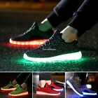 2017 Unisex LED Light Luminous Fashion Sportswear Sneaker Casual Lace Up Shoes S