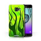 STUFF4 Phone Case for Samsung Galaxy A Smartphone/Flame Paint Job/Cover