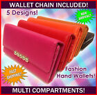 Special Offer Fashion Wallet floral multi pockets retro clip chain high quality