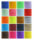 6mm COLOURED FLAT ELASTIC TRIMING '34 COLOURS' CORD QUALITY STRETCHY RIBBON