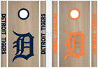 Detroit Tigers Cornhole Bean Bag Toss Vinyl Decal Set - 8pcs - Multiple Colors on Ebay