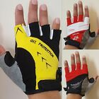 LADIES FITNESS GYM GLOVES GEL PAD PALM WEIGHT LIFTING CYCLING HALF FINGER GLOVES