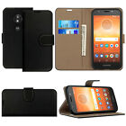New Genuine Leather Wallet Phone Case Cover For Motorola Moto E5 / G7 /Play/Plus