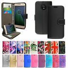 New Genuine Leather Wallet Phone Case Cover For Motorola Moto E5 Play G5 G7 Plus
