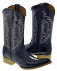 Men's Exotic Stingray Design Western Leather Cowboy Boots Rodeo Pointed Toe