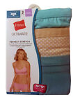 """Hanes Ultimate Women's Hipster 3-Pack 2XL-4XL """"Cotton Comfort TAGLESS"""" """"STRETCH"""""""